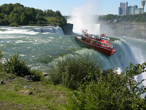 Image result for boat on the niagara river